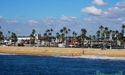 how to get from lax to newport beach